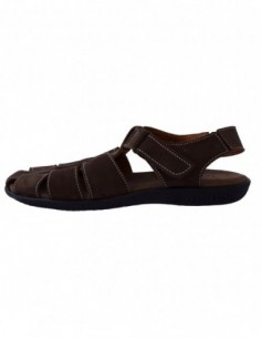 Sandale barbati, piele naturala, marca Dogati, Cod 222-2, culoare maro