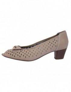 Pantofi decupati dama, piele naturala, marca Ara, Cod 22-55530-3, culoare bej