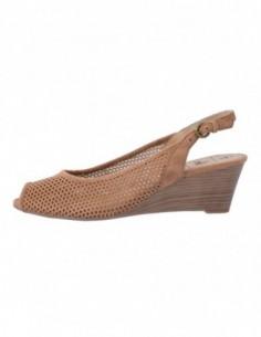 Sandale dama, piele naturala, marca Caprice, Cod 29607-3, culoare bej