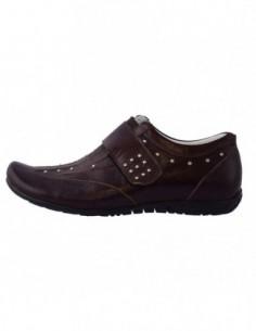 Pantofi copii, din piele naturala, marca Viva Bimba, 30-31-2, maro