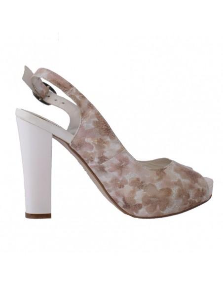 Pantofi Conhpol piele naturală negru C00C-5946