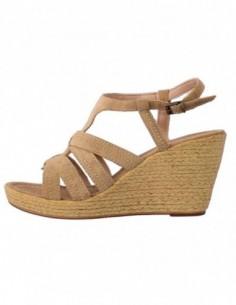 Sandale dama, piele naturala, marca Formenterra, Cod 4647-3, culoare bej