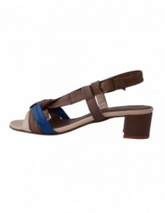 Sandale dama, din piele naturala, marca Johnny, 4744-B2, taupe