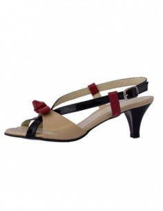 Sandale dama, din piele naturala, marca Botta, 476-3, bej