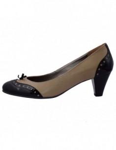 Pantofi dama, din piele naturala, marca Botta, 494-3, bej