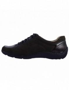 Pantofi dama, din piele naturala, marca Waldlaufer, 496031-411-40, kaki