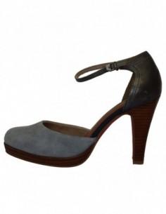 Pantofi dama, piele naturala, marca sOliver, Cod 5-24406-22-7, culoare albastru