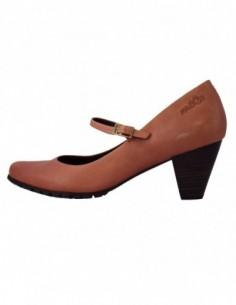 Pantofi dama, piele naturala, marca sOliver, Cod 5-24421-39-11, culoare orange