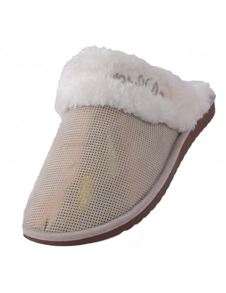 Pantofi Sport Formenterra piele nabuc roz A5G767