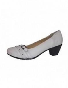 Pantofi dama, piele naturala, marca Reflexan, Cod 53610-03-34, culoare bej
