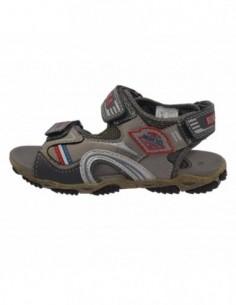 Sandale copii, din piele naturala, marca sOliver, 5-38100-26-14, gri