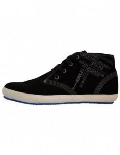 Adidasi dama, piele naturala, marca sOliver, Cod 5-45102-21-1, culoare negru