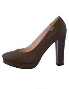 Pantofi dama, din piele naturala, marca Botta, 549-6, verde