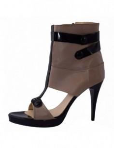 Sandale dama, din piele naturala, marca San Savana, 555-3, bej