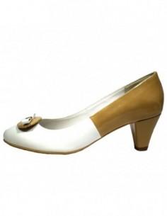 Pantofi dama, din piele naturala, marca Botta, 568-13, alb