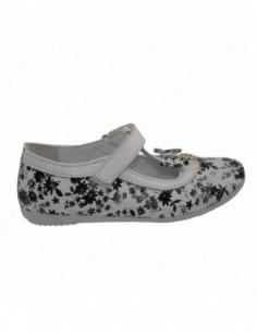 Pantofi copii, piele naturala, marca Hobby bimbo, Cod 6-1, culoare negru