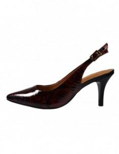 Pantofi dama, piele naturala, marca Epica, Cod 6423-194-30-92, culoare bordo
