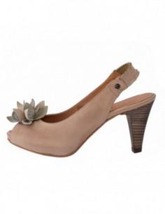 Sandale dama, piele naturala, marca Johnny, Cod 6615-3, culoare bej