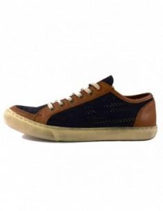 Pantofi barbati, piele naturala, marca Wanted, Cod 7126A-6, culoare verde