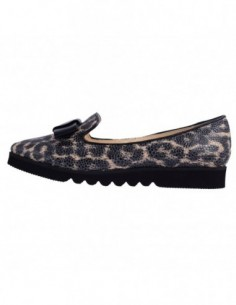 Pantofi dama, din piele naturala, marca Botta, 778-14, gri