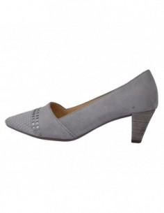 Pantofi dama, piele naturala, marca Gabor, Cod 65-146-19-14-30, culoare gri
