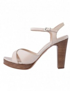 Sandale dama, piele naturala, marca Johnny, Cod 8326-3, culoare bej