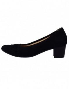 Pantofi dama, piele naturala, marca Gabor, Cod 65-382-17-01-30, culoare negru