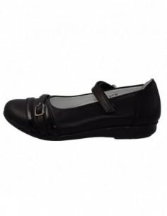 Sandale copii, piele naturala, marca Hobby bimbo, Cod 92-1, culoare negru