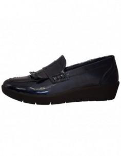 Pantofi dama, din piele naturala, marca Walk, 9214-37320-42, bleumarin