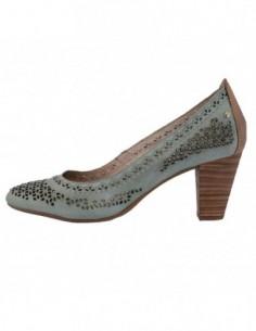 Pantofi dama, piele naturala, marca Pikolinos, Cod 9357534-6, culoare verde