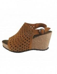 Sandale dama, piele naturala, marca Johnny, Cod 9632-16-14, culoare camel