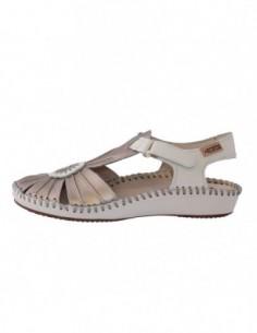 Sandale dama, piele naturala, marca Pikolinos, Cod 655-8899C2-03-21, culoare crem