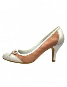 Pantofi dama, din piele naturala, marca Endican, B11203-J1, roz cu diverse