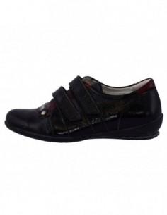 Pantofi copii, piele naturala, marca Viva Bimba, Cod b1-4-1, culoare negru