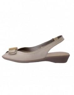 Sandale dama, din piele naturala, marca Flexx, B1420127-3, bej