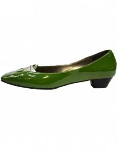 Sandale dama, din piele naturala, marca Endican, B1525-6, verde