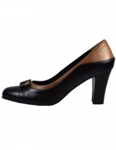 Pantofi dama, din piele naturala, marca Neno, B1613-1, negru