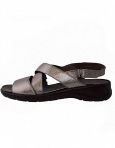 Sandale dama, piele naturala, marca Ara, Cod B22-56556-12, culoare auriu