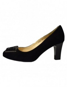 Pantofi dama, piele naturala, marca Deska, Cod B29304-1, culoare negru