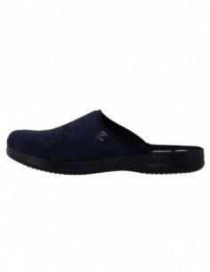 Saboti barbati, piele naturala, marca Inblu, Cod B31305-7, culoare albastru