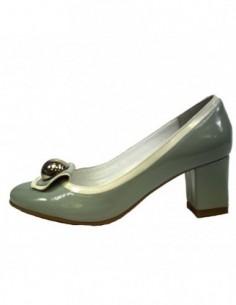 Pantofi dama, din piele naturala, marca Botta, B317-6, verde