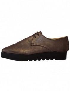 Pantofi dama, din piele naturala, marca Endican, B402-2, maro