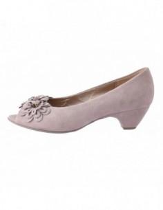 Pantofi dama, din piele naturala, marca Gabor, B4160110-J1, roz cu diverse