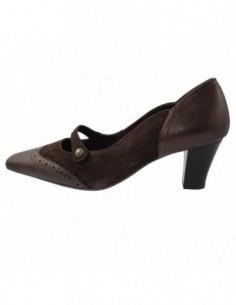 Pantofi dama, din piele naturala, marca Ara, B42502-2, maro
