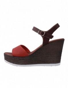 Sandale dama, din piele naturala, marca Gatta, B511DS5631504ROS-5, rosu
