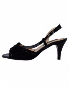 Pantofi dama, din piele naturala, marca Botta, B591-1, negru