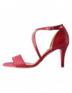 Sandale dama, piele naturala, marca Botta, Cod 679-05-05, culoare rosu