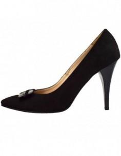 Pantofi dama, piele naturala, marca Botta, Cod B617-1, culoare negru