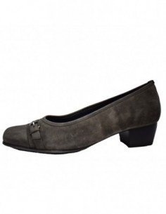 Pantofi dama, piele naturala, marca Jenny by Ara, Cod B64826-14, culoare gri