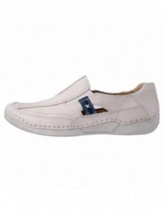 Pantofi dama, piele naturala, marca Reflexan, Cod B71025-69-3, culoare bej